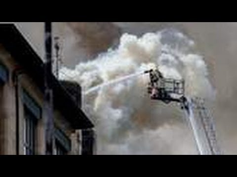 Glasgow Art School Blaze At Famous Rennie Mackintosh Building
