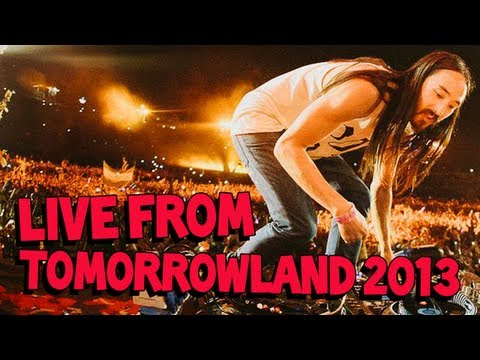 Steve Aoki LIVE From Tomorrowland 2013 – Main Stage