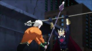 Aquaman vs Orm | Justice League: Throne of Atlantis