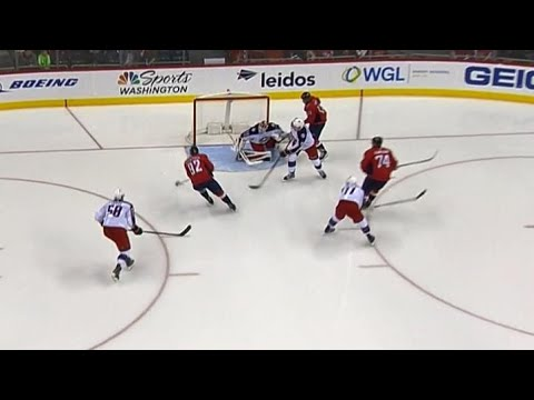 Video: Kuznetsov buries give-and-go play with Carlson