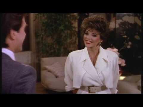 Joan Collins. What did she wear on Dynasty season 8?
