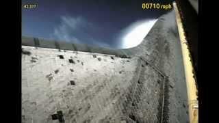 Процесс запуска шаттла глазами ракетного ускорителя
