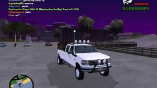 GTA: San Andreas Mods, Ford F350