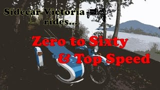 3. Sidecar Victoria rides Zero to Sixty and Top Speed