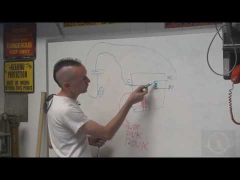 relay - http://www.thegeekgroup.org - Chris covers the basics of how electrical relays and contactors work. Relays and Contactors can work with high voltage or low v...