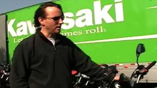 2. 2007 Kawasaki Z1000 Motorcycle Review