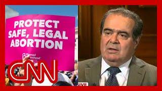 Video Justice Antonin Scalia talks about Roe v. Wade. MP3, 3GP, MP4, WEBM, AVI, FLV Oktober 2018