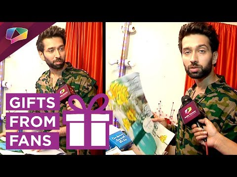 Nakuul Mehta Receives Gifts From His Fans |