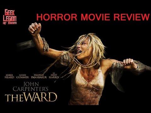 JOHN CARPENTER'S THE WARD ( 2010 Amber Heard ) Horror Movie Review