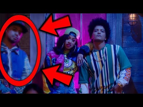 Video 10 THINGS YOU MISSED IN Bruno Mars - Finesse (Remix) [Feat. Cardi B] [Official Video] download in MP3, 3GP, MP4, WEBM, AVI, FLV January 2017