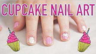 ♥ CUPCAKE Nail Design ♥ by Seventeen Magazine