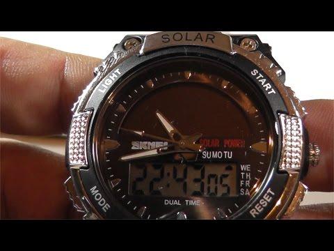 Часы SKMEI, модель 1049 (25.05.2016) (видео)
