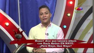 Mozart La Para dice que lanzará álbum de Rock Nation en Mayo
