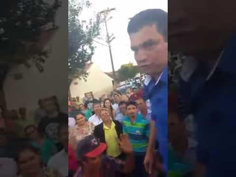 Edimar Santos, pronunciamento vitória em Santa Cecília do Pavão
