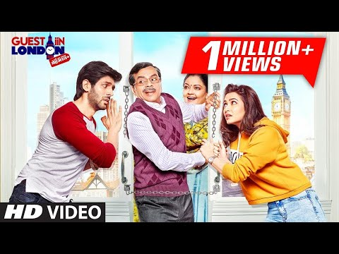 Guest Iin London (2017) Full Movie - Paresh Rawal, Kartik Aaryan, Kriti Kharbanda | Full Promotions
