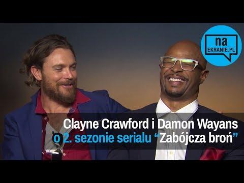 Clayne Crawford i Damon Wayans o 2. sezonie Zabójczej broni