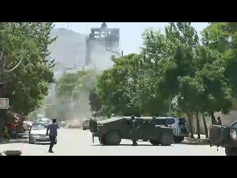 Afghanistan: Vier neue Selbstmordanschläge in Kabul