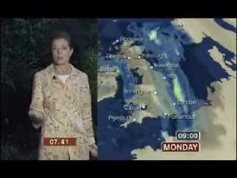 BBC breakfast chaotic weather OB blooper