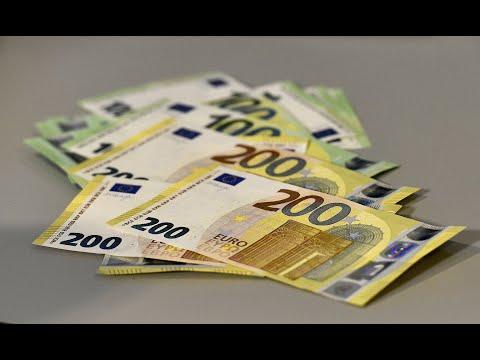 EZB hat neue Noten für sicheres großes Geld