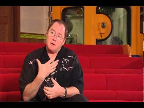 Lasseter - Goro Miyazaki interviewing John Lasseter on the Ghibli Museum.