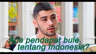 Video Apa Pendapat Bule Tentang Indonesia? (What people from all around the world think about Indonesia?) MP3, 3GP, MP4, WEBM, AVI, FLV Februari 2018