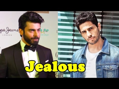 Here's Why Sidharth Malhotra Is Jealous Of Fawad K