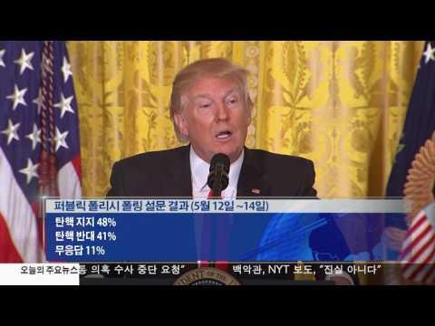 트럼프 탄핵 지지 여론 48%  5.16.17 KBS America News