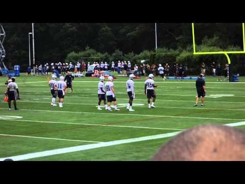 patriots - 2014 Patriots Training Camp Day 1.
