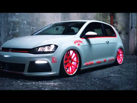 VW Golf 7 2013 Light-Tron Tuning-Showcar
