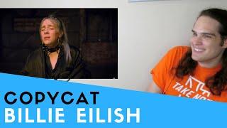 Voice Teacher Reacts to Billie Eilish | COPYCAT (Acoustic)