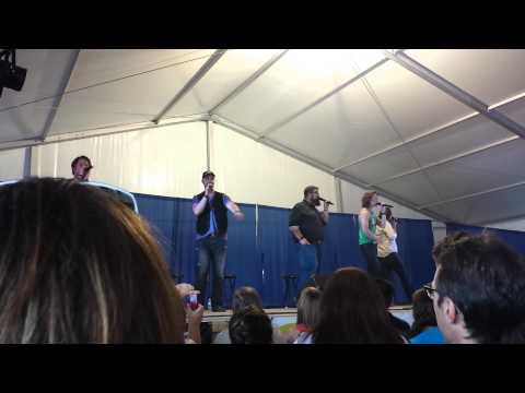 """Home Free Debuting Cover of Kenny Chesney's """"American Kids"""" in Tipton"""