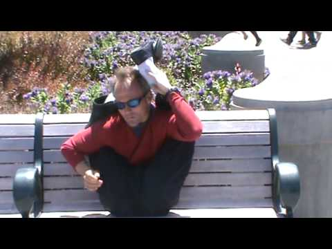 Front Bend Training on a Bench