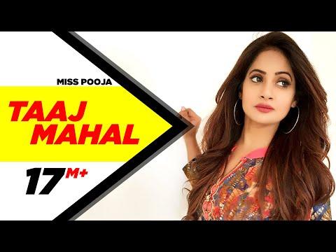 Taaj Mahal Miss Pooja Brand New Punjabi song | Punjabi Songs | Speed Records