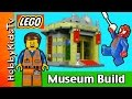 LEGO City Police Museum Break-in Museum Build 60008 Spider-Man and Emmet HobbyKidsTV