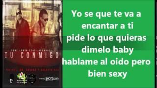 TÚ CONMIGO CON LETRA TONY LENTA FT ARCÁNGEL youtube com