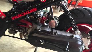 4. My 2013 Honda ruckus