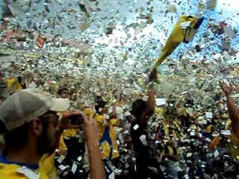 Once municipal vs Metapan final apertura 2011 - La Fiel Amarilla - Once Municipal