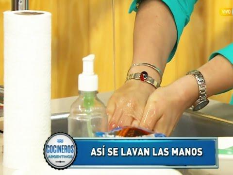 Los peligros de no lavarse las manos