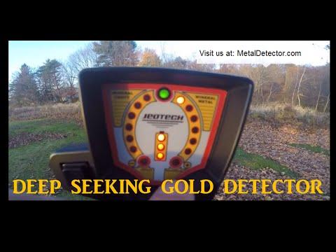 Makro JeoTech Deep Seeking Metal Detector Review (English)