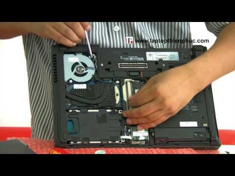 Hướng dẫn tháo lắp vệ sinh Hp elitebook 8460w - Phần 1