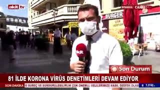 Gaziosmanpaşa'da Koronavirüs Denetimleri - Akit Tv