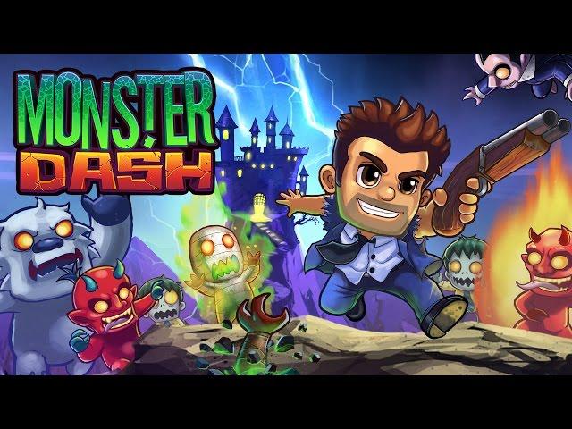 Massive Monster Dash update – Barry is back!