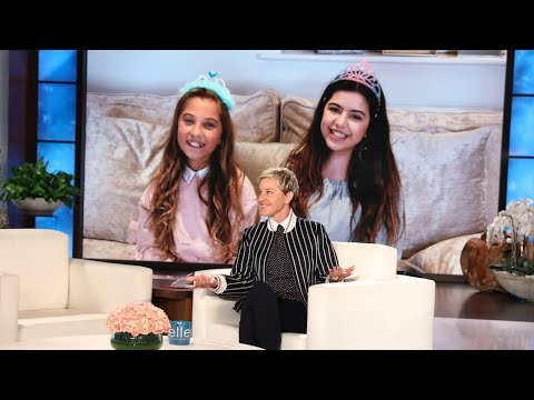 Video Sophia Grace & Rosie Wish Ellen Happy Birthday download in MP3, 3GP, MP4, WEBM, AVI, FLV January 2017