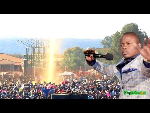 Holy Spirit Appears Live At ECG Church Crusade | Prophet Shepherd Bushiri Major 1