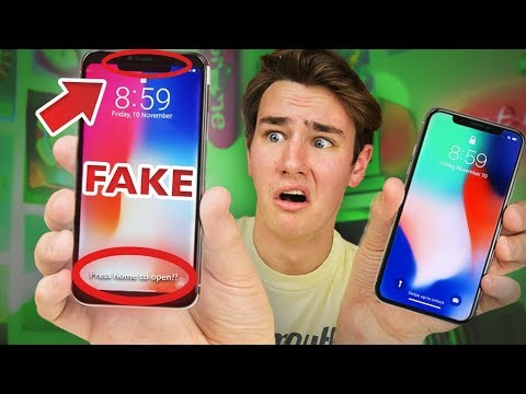 $125 Fake iPhone X - How Bad Is It? (видео)
