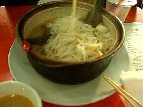 Chinese noodle soup for lovers