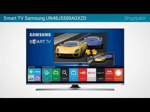 Smart TV Samsung UN48J5500AGXZD   LED Full HD de 48 Polegadas