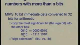 Lecture -11 Binary Arithmetic, ALU Design