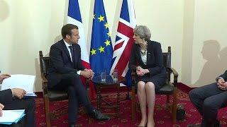 Video Premier entretien franco-britannique du mandat d'E. Macron MP3, 3GP, MP4, WEBM, AVI, FLV September 2017