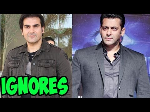 Arbaaz Khan IGNORES questions on SALMAN KHAN
